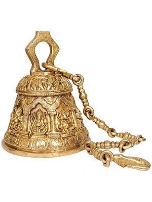 Ashta-Vinayaka Temple Hanging Large Bell