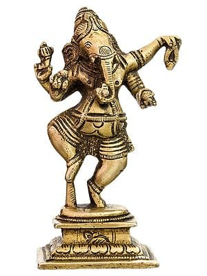 Dancing Ganesha (Small Sculpture)