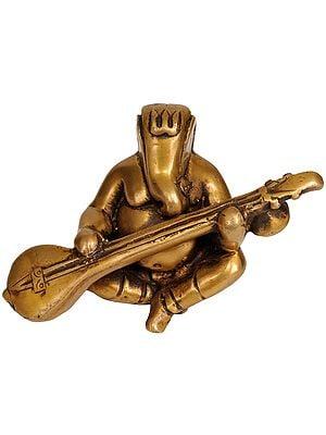 Modern Ganesha Playing on Sitar