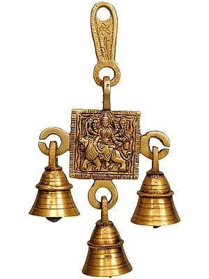 Devi Durga Hanging Bell