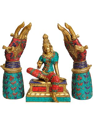 Seated Parvati with Blessing Hands