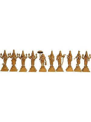 Dashavtara (Set of Ten Sculptures)