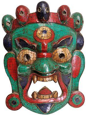 Mahakala Hanging Mask