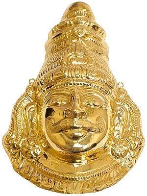 Virabhadra Mask (Repousse)
