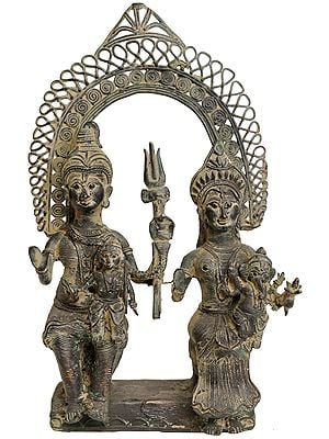 Shiva Parivar  (Tribal Statue from Bastar)