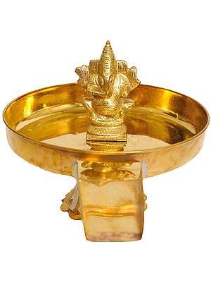 For Abhisheka of Lord Ganesha