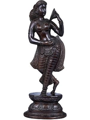 Lady with Mirror (Apsara)