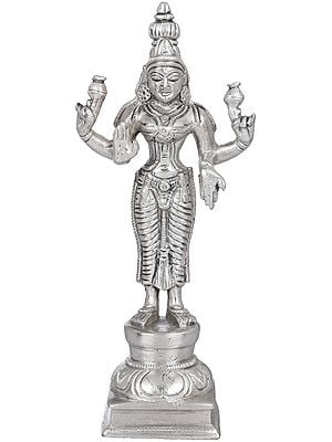 Four Armed Standing Lakshmi (Goddess of Wealth and Prosperity)