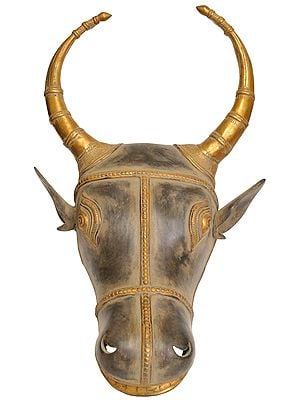 Wall Hanging Bull Mask