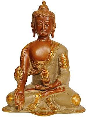 The Medicine Buddha -  Bhaisayaguru  (Tibetan Buddhist Deity)
