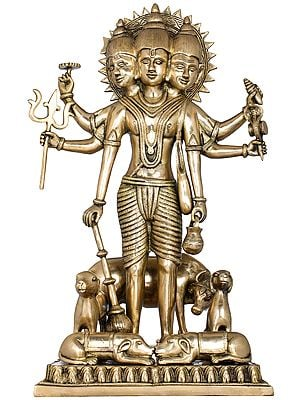 Large Lord Dattatreya