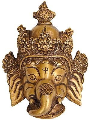 Lord Ganesha Wall Hanging Mask