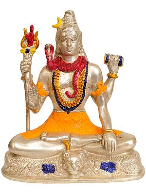 Four Armed Lord Shiva