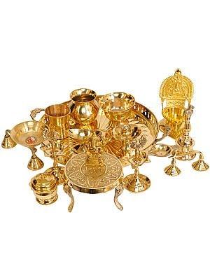 Lakshmi Ganesha Puja Set
