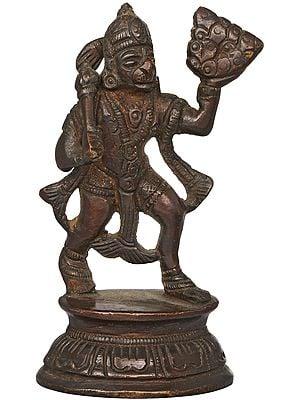 Lord Hanuman Brass Statue