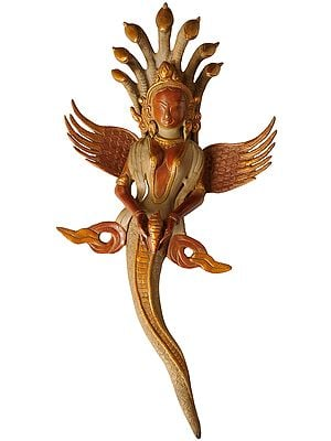 Naga-Kanya Wall Hanging - An Auspicious and Protective