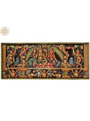 Vishnu-Lakshmi Panel