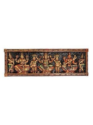 The Great Triad of Lakshmi Ganesha and Saraswati