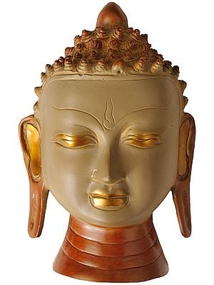 Lord Buddha Wall Hanging Mask