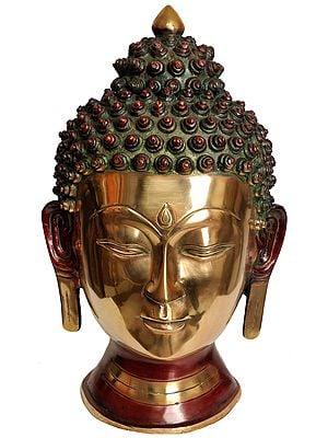 Large Size Lord Buddha Head
