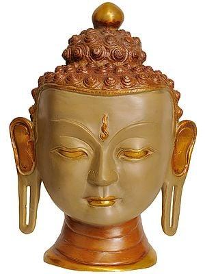 Lord Buddha Wall Hanging Mask