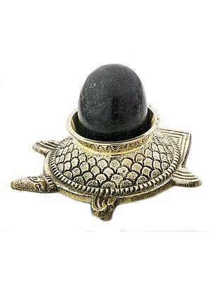Vastu Tortoise with Shiva Linga
