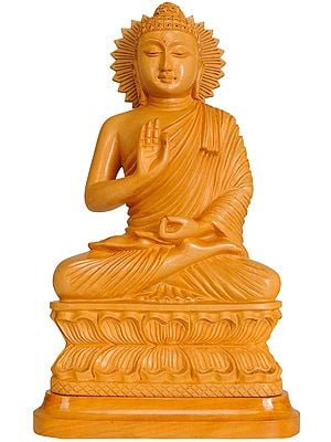 Shakyamuni Buddha Preaching His Dharma