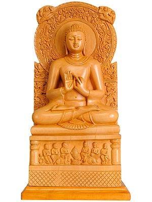 Lord Buddha in Dharmachakra Mudra