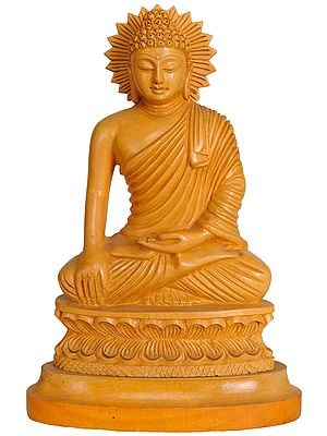 Lord Buddha in Bhumisparsha Mudra