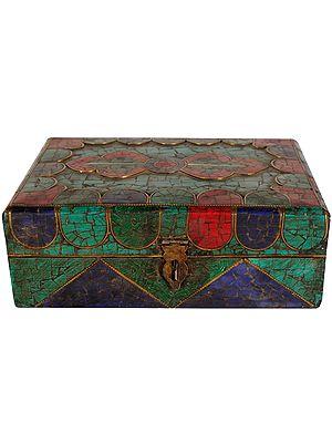 Ritual Box with Dorje Figure