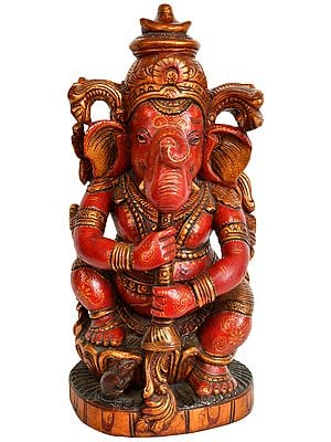 Ganesha Plays the Shehnai
