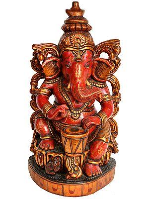 Ganesha, The Drummer