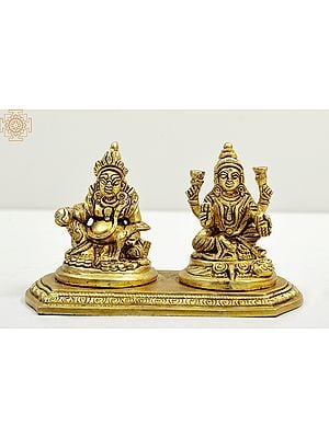 Goddess Lakshmi and Lord Kuber