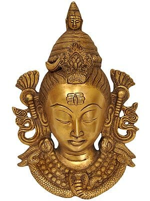 Gangadhara Shiva Wall Hanging Mask