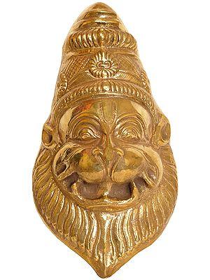 Lord Narasimha Wall Hanging Mask