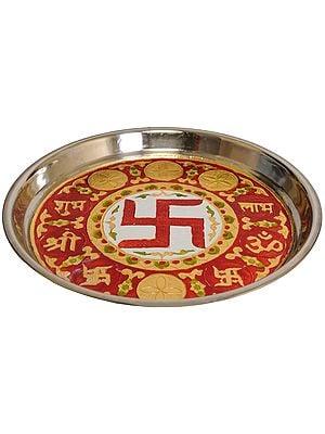 Auspicious Shubh Labh Puja Thali
