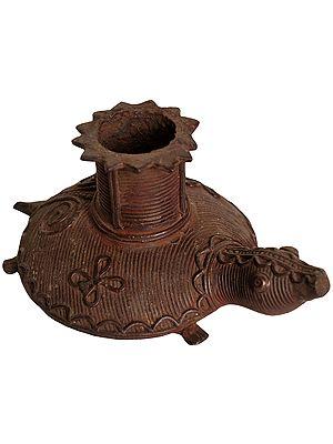 Vastu Tortoise Candle Stand