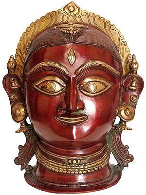Goddess Parvati Head