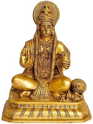 Lord Hanuman (Lord Rama Depicted in His Heart)