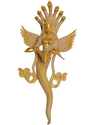 Wall Hanging Naga Kanya - An Auspicious and Protective