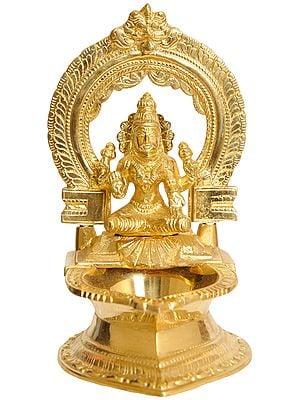 Goddess Lakshmi Lamp