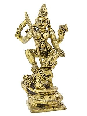 Mahishasura-Mardini Goddess Durga (Small Statue)