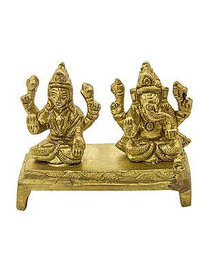 Lakshmi Ganesha (Small Statue)