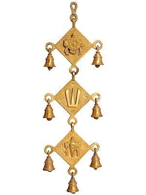 Vaishnava Wall Hanging Bells