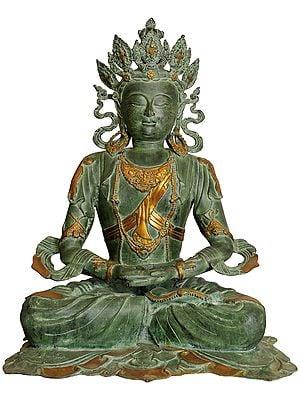 Large Size Pritzker Vairochana Buddha - Tibetan Buddhist Deity