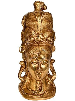 Lord Shiva with Serpents