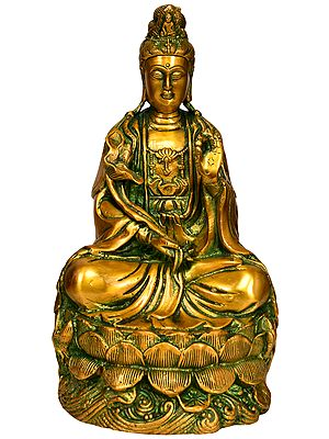 Tibetan Buddhist Deity Kuan Yin -Goddess of Compassion