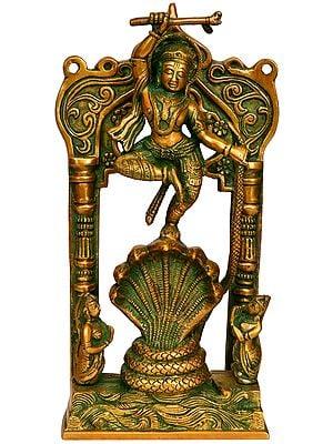 Lord Krishna Vanquishes Kaliya