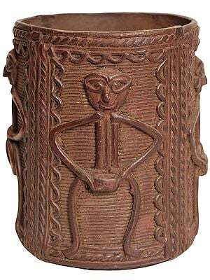 Tribal Pen Holder from Bastar