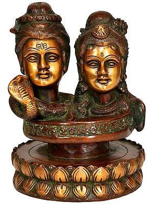 Shiva Parvati -Mukhalingam